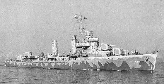 USS Meade DD-602.